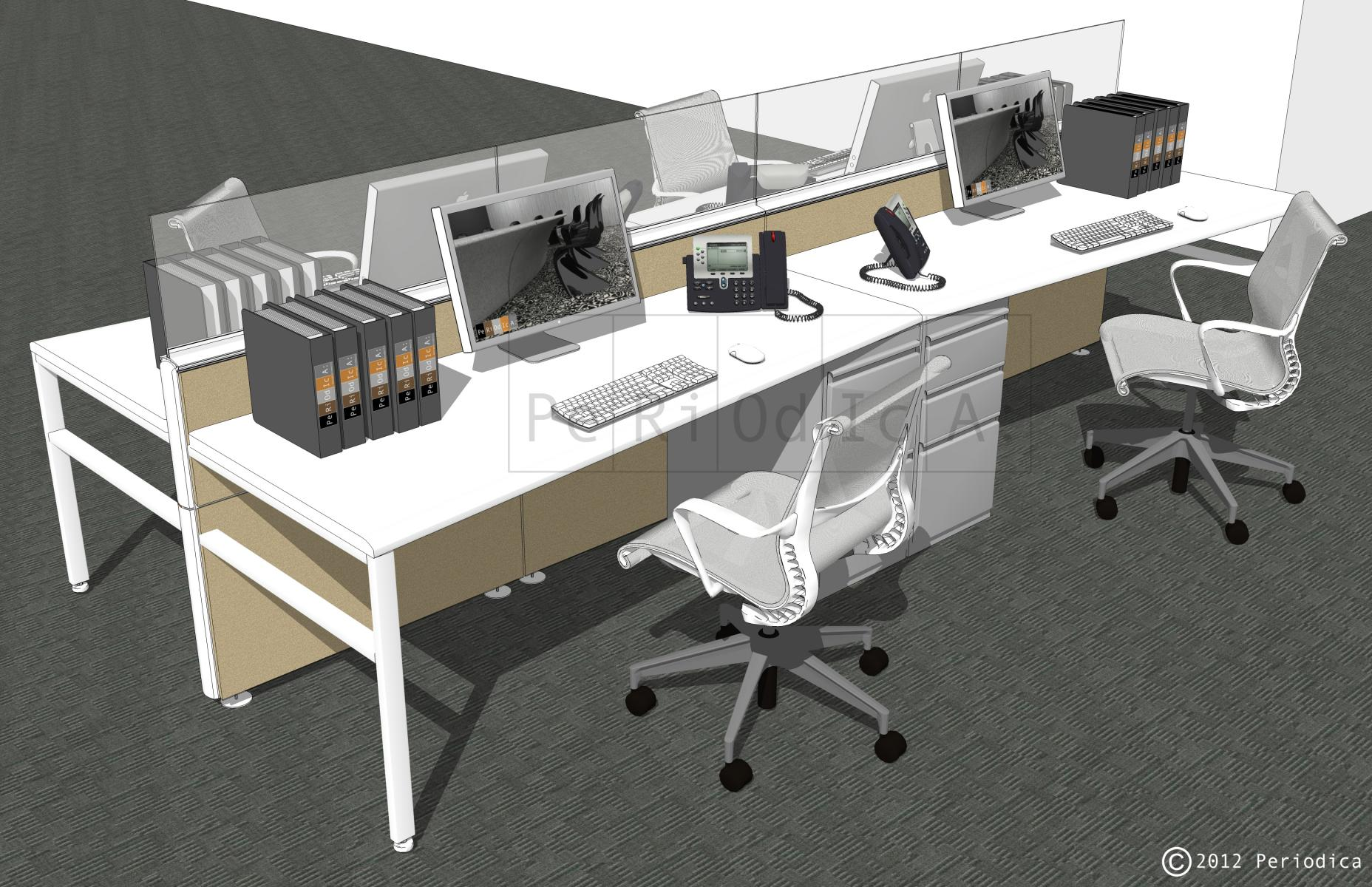 005/ cluster of 4 workstations (Inscape)