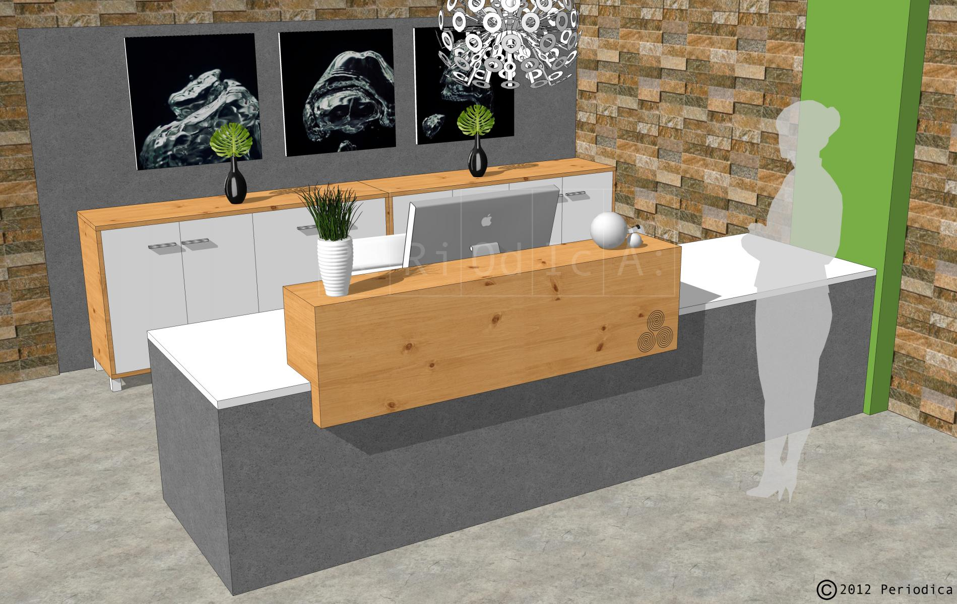 004/ reception desk. art by joao travessa