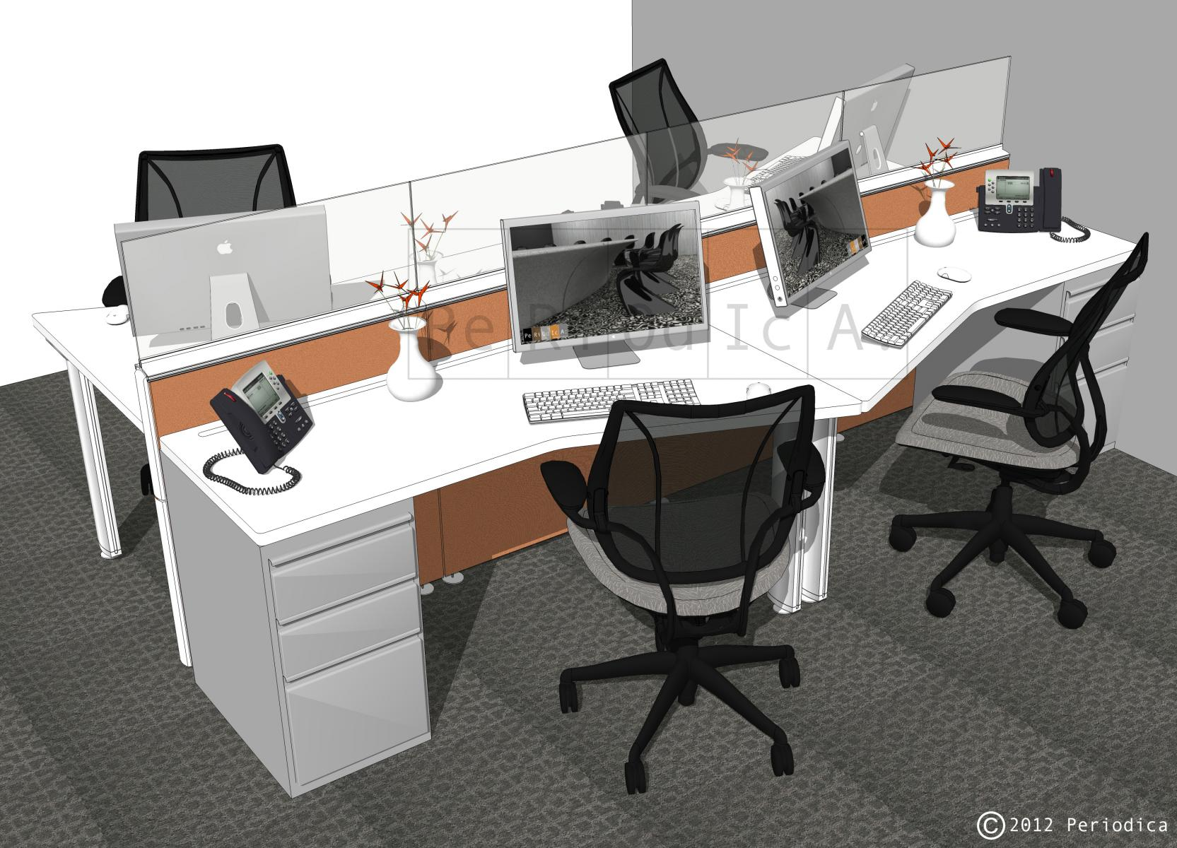 003/ cluster of 4 workstations (Inscape)