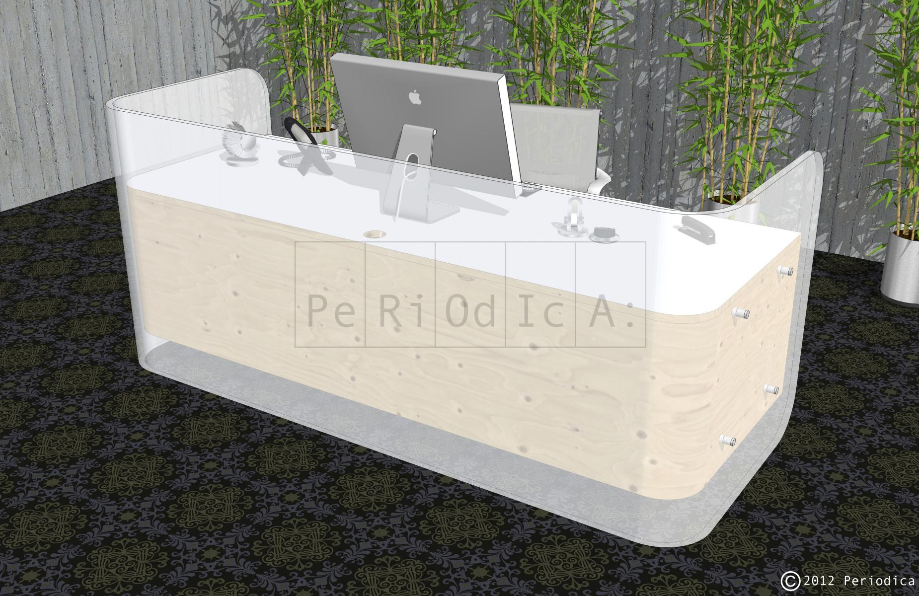 029/ custom reception desk