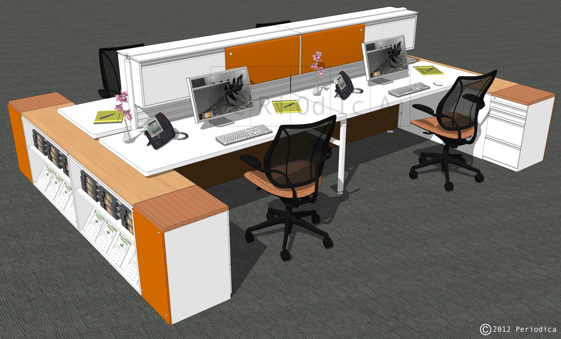 004/ cluster of 4 workstations (Inscape)